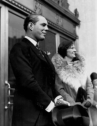John David Eaton and Lady Eaton