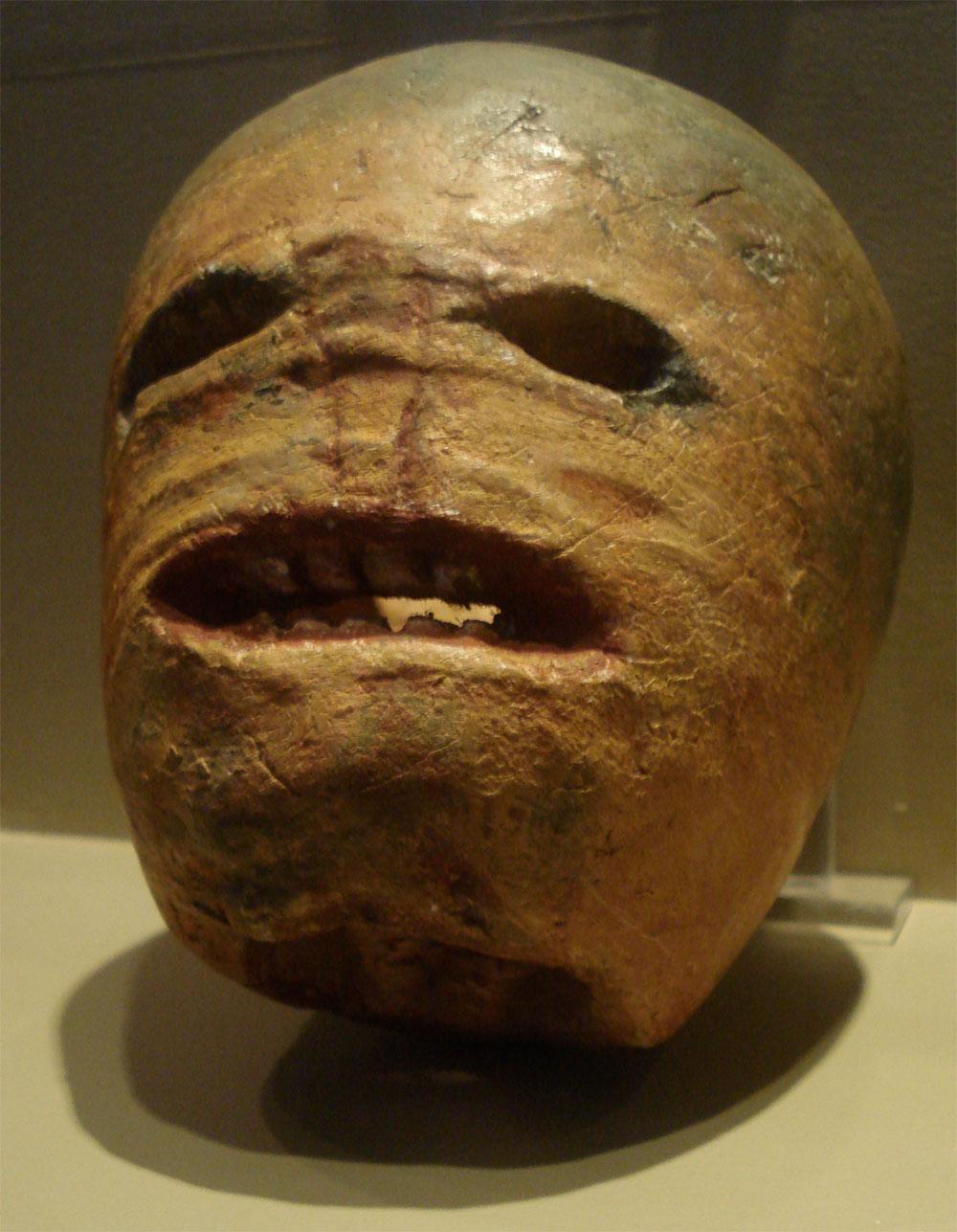 Traditional Irish Turnip Jack-o'-lantern