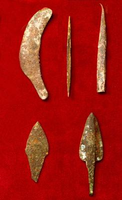 Outils en cuivre