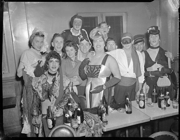 Halloween Party, 1950