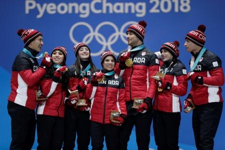 Canadian Figure Skating Team, PyeongChang 2018