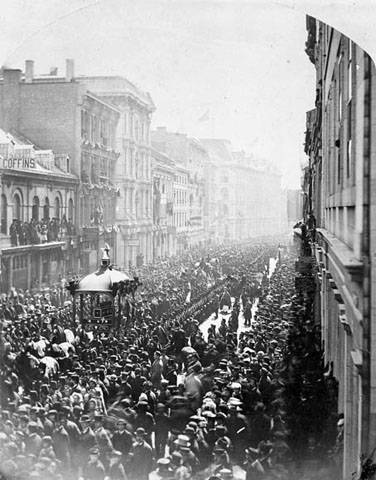 Thomas D'Arcy McGee, funeral procession