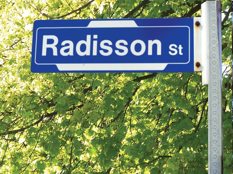 Radisson Street.