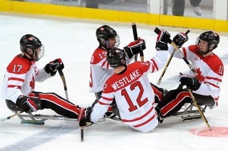 \u00c9quipe de hockey sur luge, Jeux paralympiques d