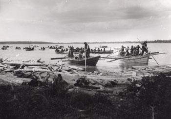 Tlicho on Great Slave Lake, 1900