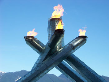 Olympic Cauldron, Vancouver 2010