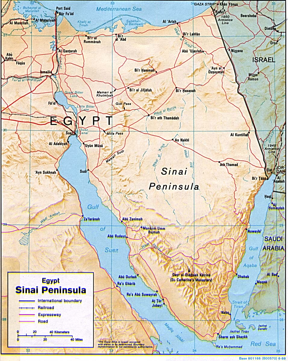 Péninsule de Sinai