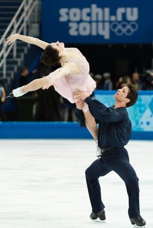 Tessa Virtue and Scott Moir, Sochi 2014