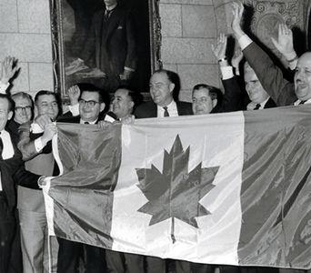 Inauguration du nouveau drapeau
