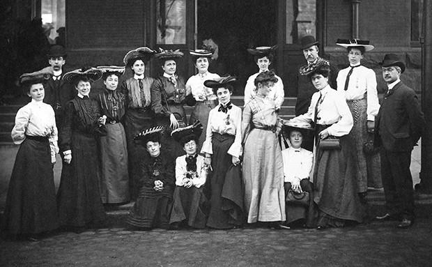 Membres fondatrices du Canadian Women