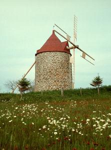 Windmill, Île aux Coudres