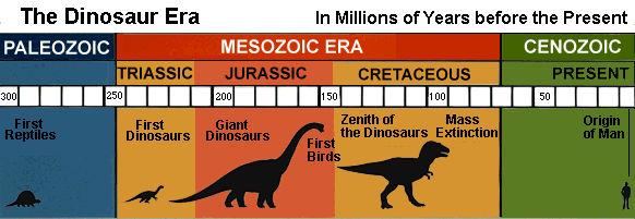 Dinosaur Eras