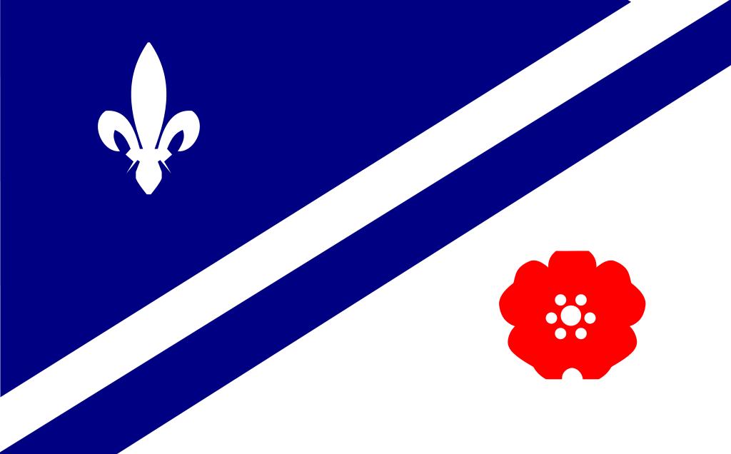 Drapeau des Franco-Albertains