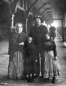 Allemands, immigrants