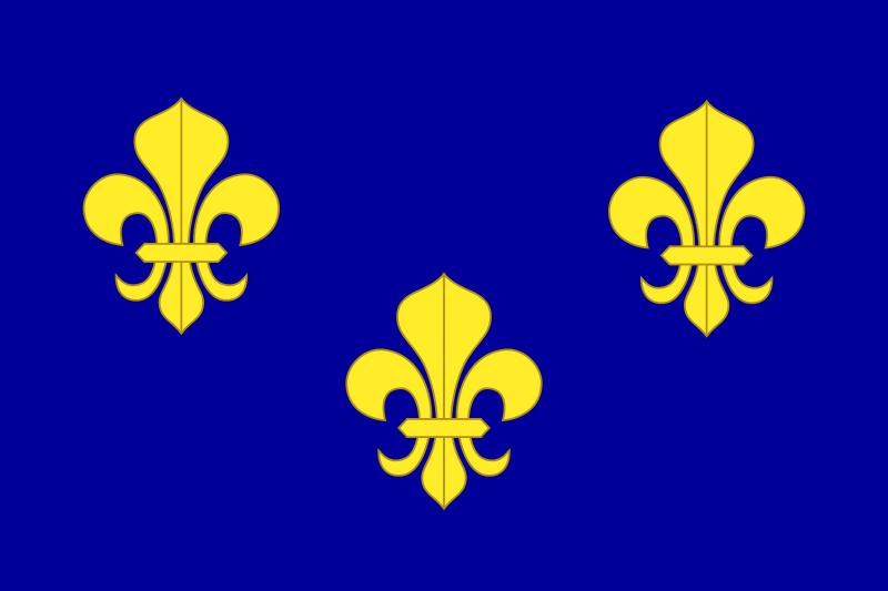 La bannière royale de France