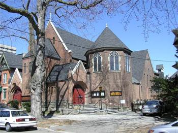 L'église anglicane St. Thomas (vue extérieure)