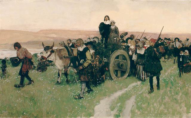 L'arrivée de madame Champlain à Québec, 1620