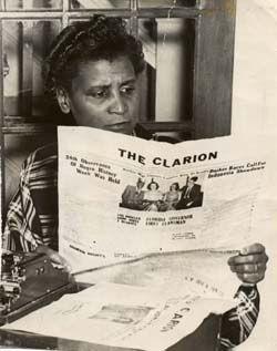 Carrie Best with The Clarion
