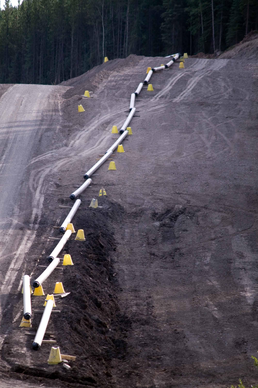 Construction d\u2019un gazoduc