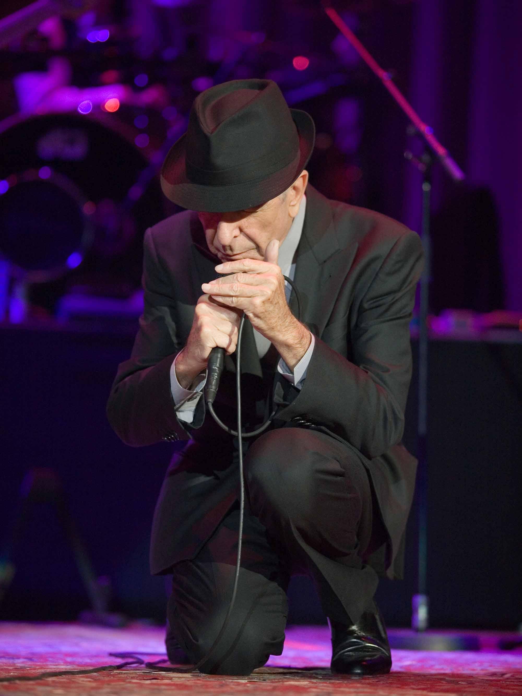 Leonard Cohen à Budapest