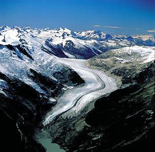 Lillooet, glacier