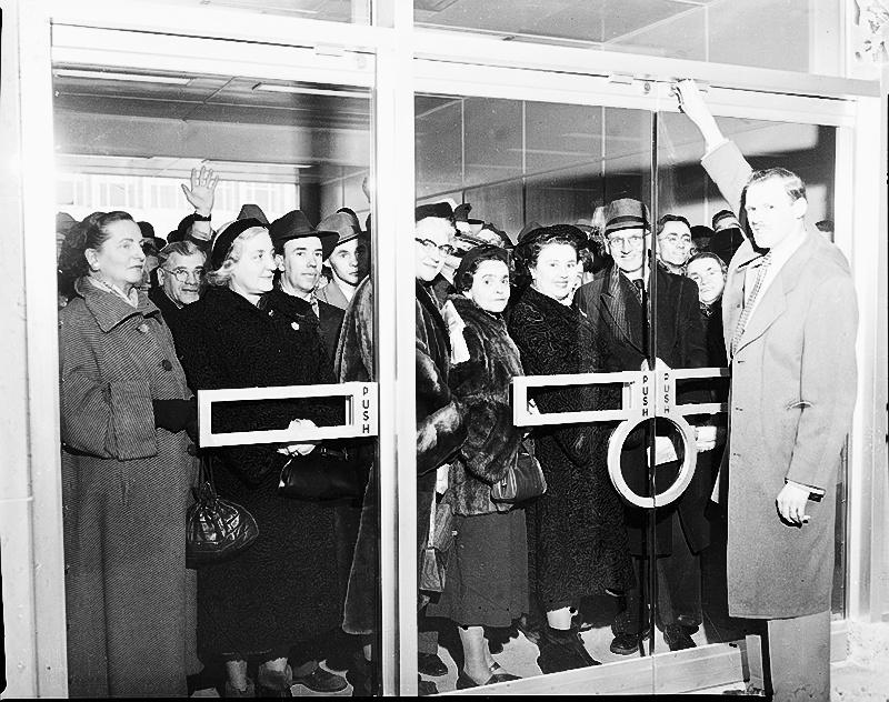 Journée inaugurale, 30 mars 1954