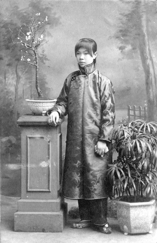 Portrait of a young woman, Mei-zhen, ca. 1905.