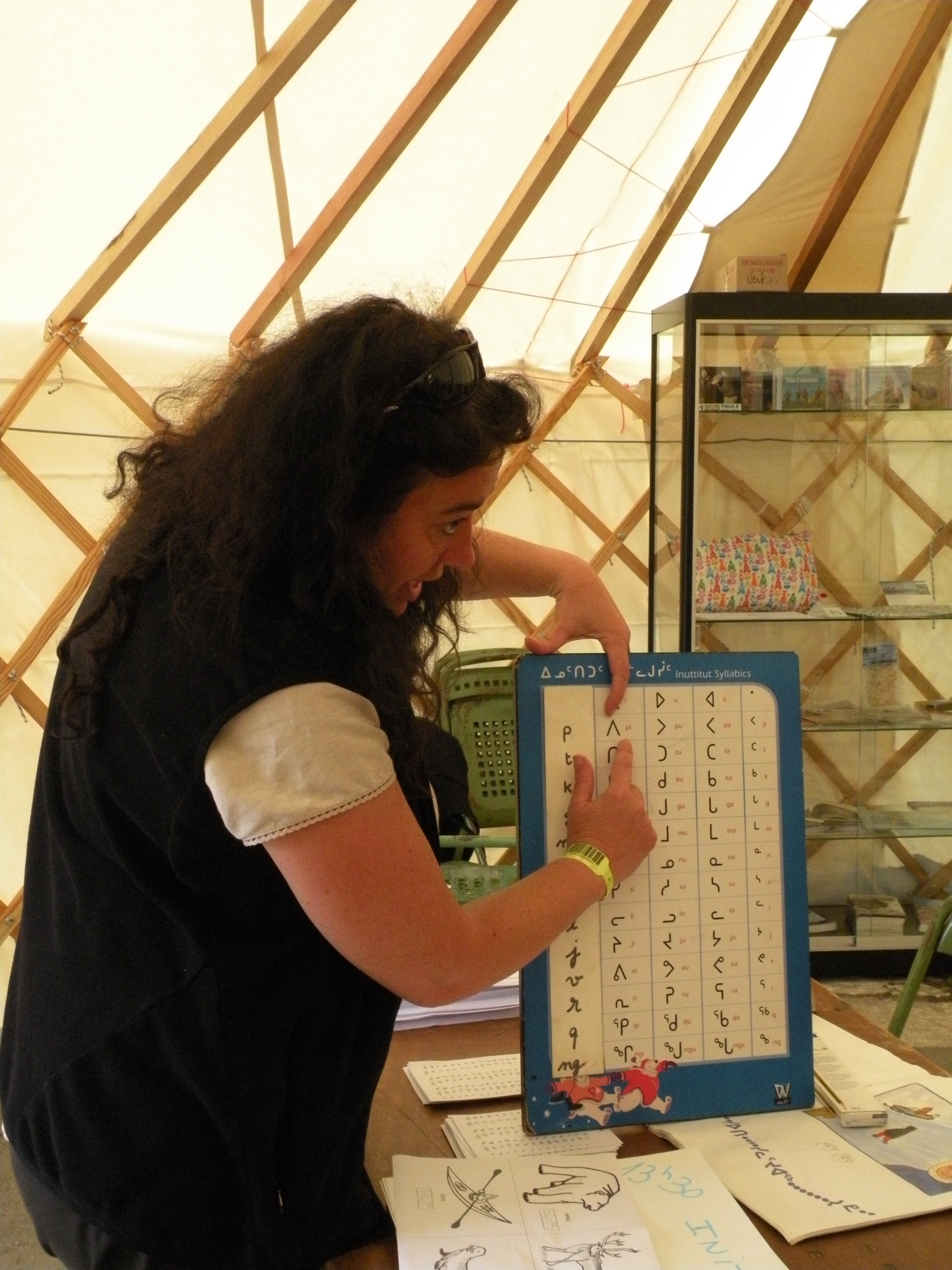 Learning Inuktitut