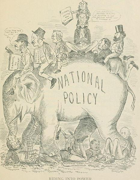 esquisse politique de Sir John A. Macdonald