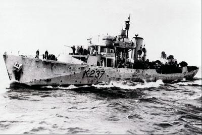 Le NCSM « Halifax »