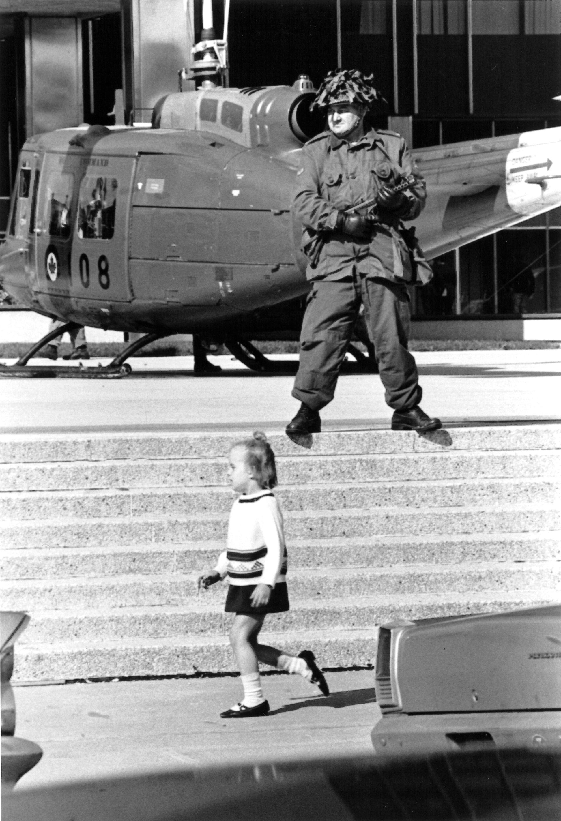 Soldat et enfant