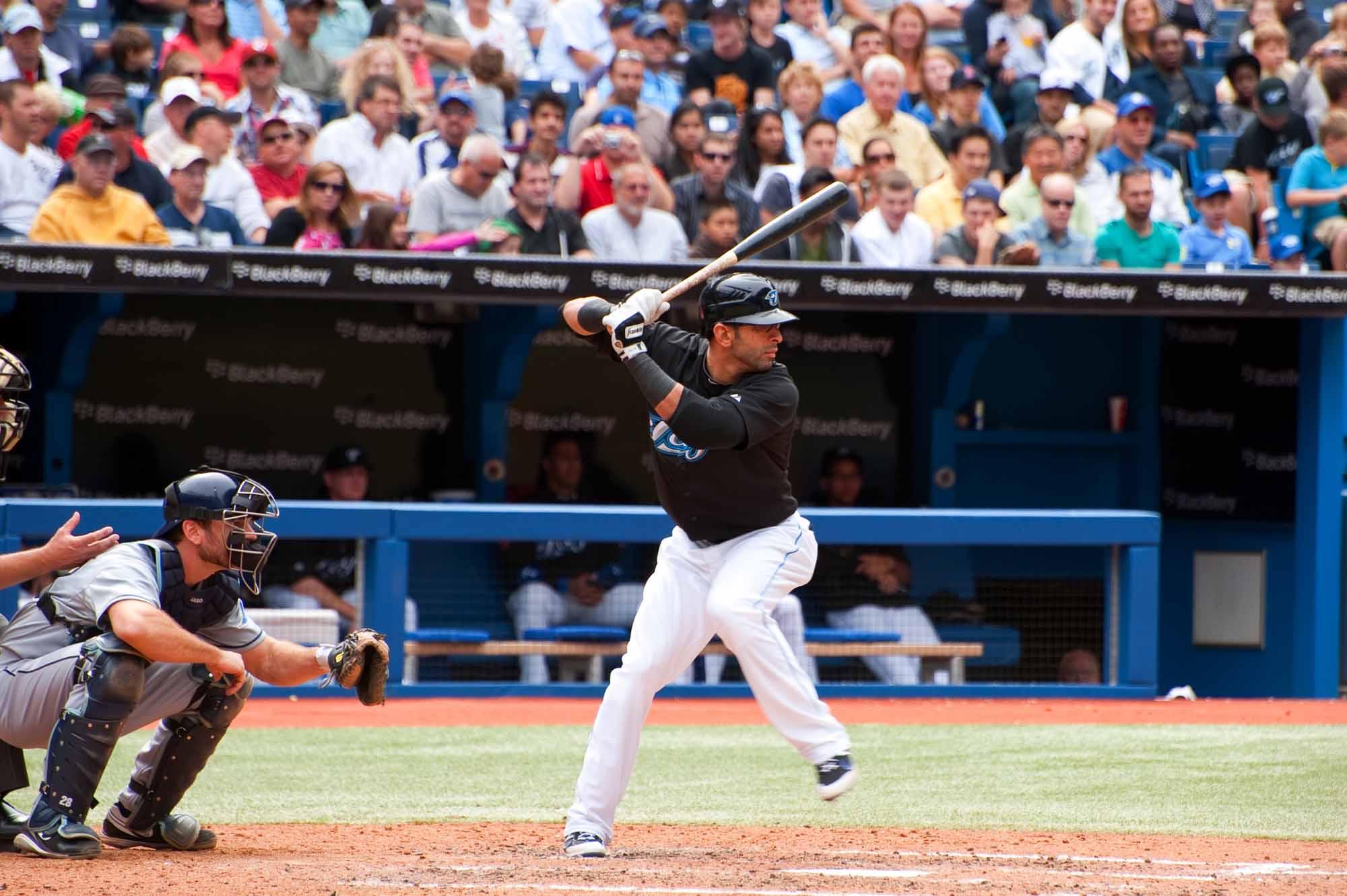 Jose Bautista of the Toronto Blue Jays