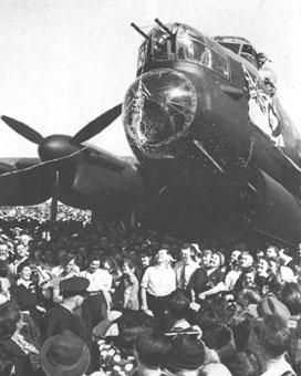 First Lancaster Bomber