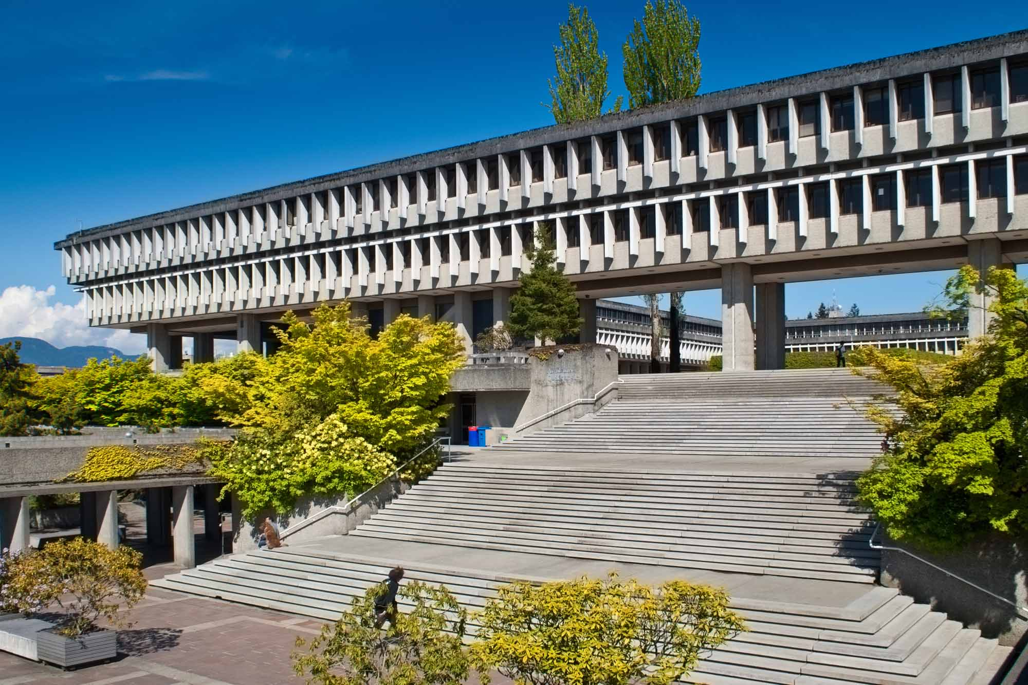 Simon Fraser University in suburban Vancouver, BC.