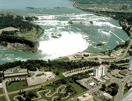 Niagara, chutes