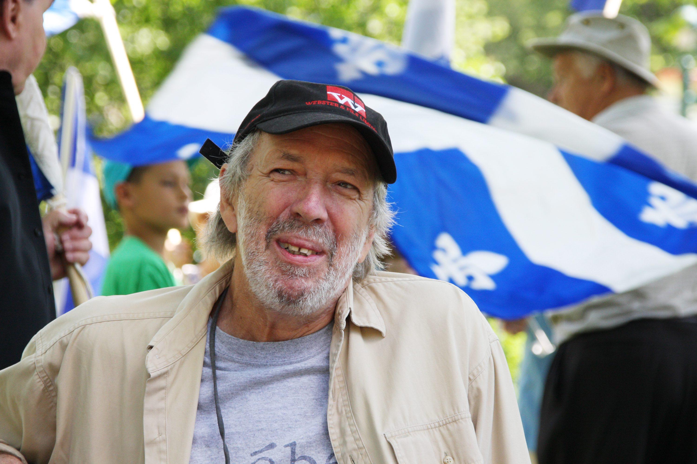 Pierre Falardeau, 2008.
