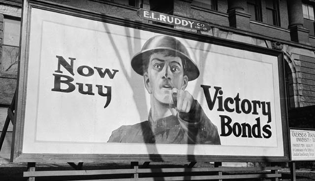 WWI Victory Bond poster