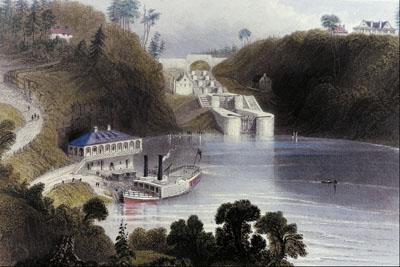 Locks on the Rideau Canal