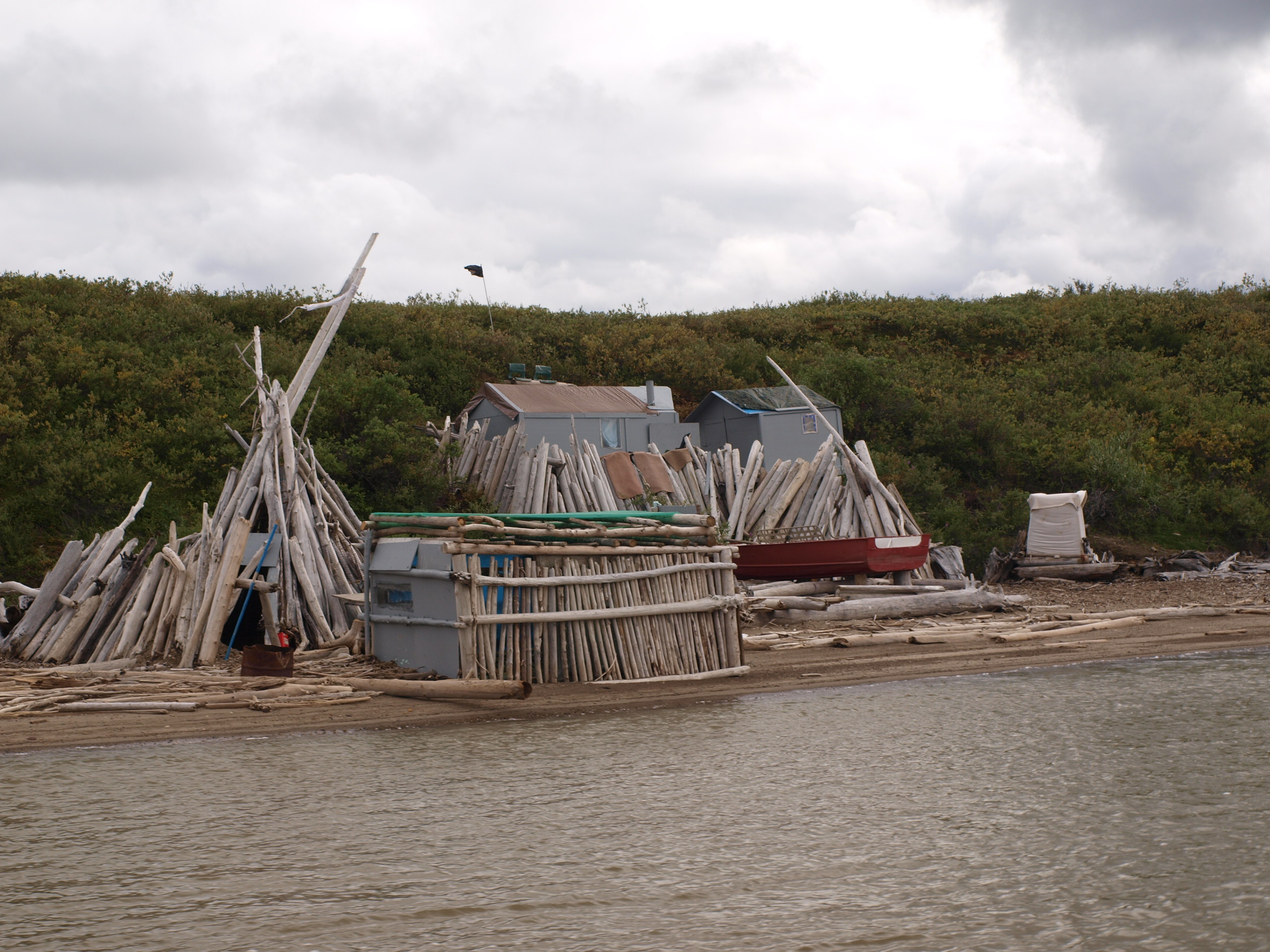 Inuvialuit whaling camp
