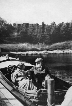 Alexander Graham Bell et Mabel Bell