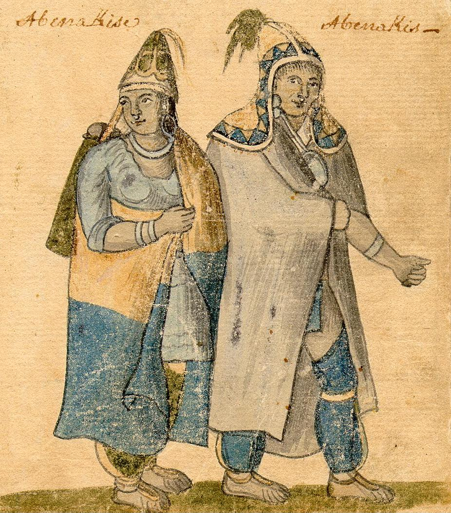 Abenaki Couple