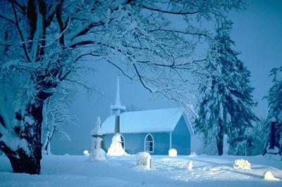 Église bleue