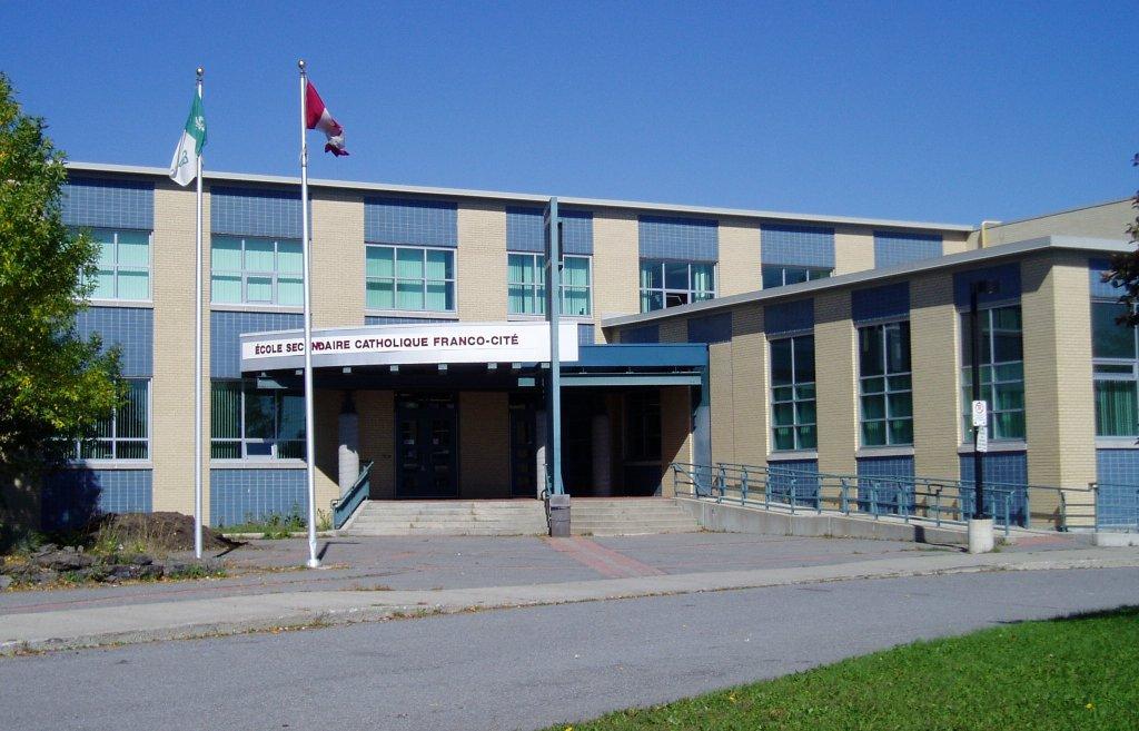 École secondaire catholique Franco-cité, founded in Ottawa in 1994