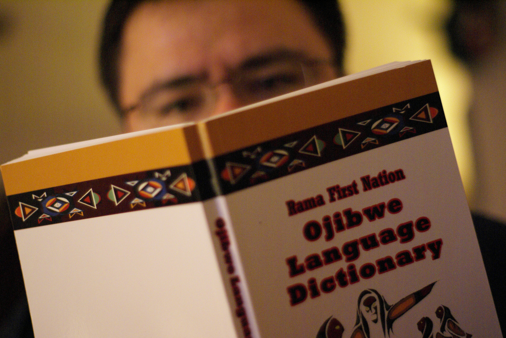 Rama First Nation, Ojibwe Language Dictionary.