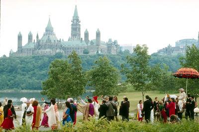 Hindu Wedding Procession