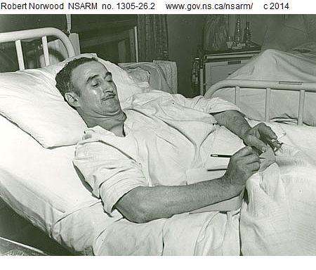 Maurice Ruddick, 1958.