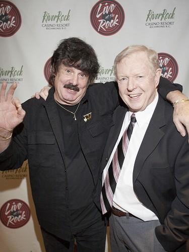 Burton Cummings  and Red Robinson, 2006.