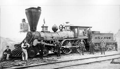 Toronto, La locomotive No 2 de l'Ontario, Simcoe and Huron Railroad