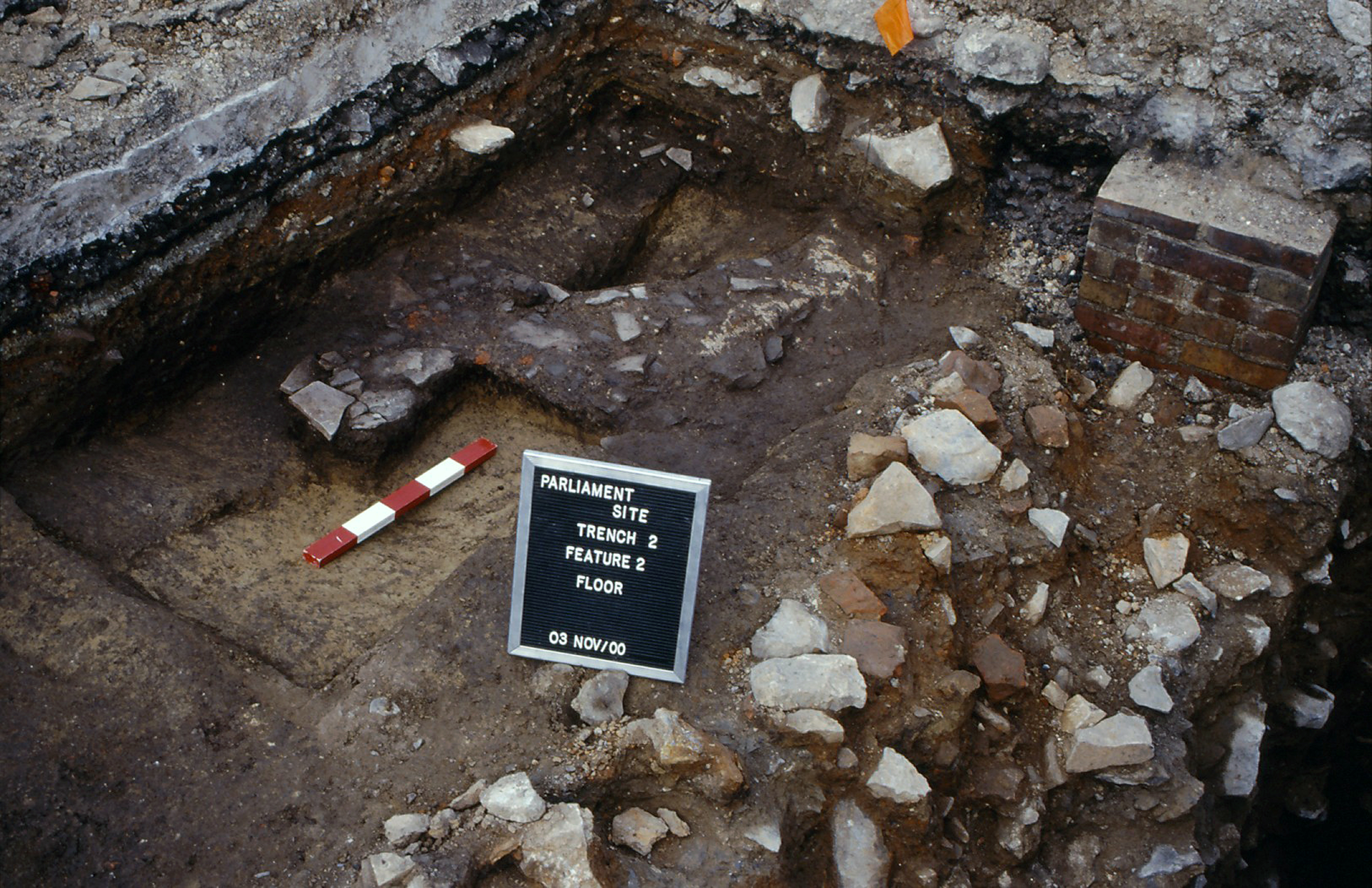 Ontario's first Parliament site, archaeological dig