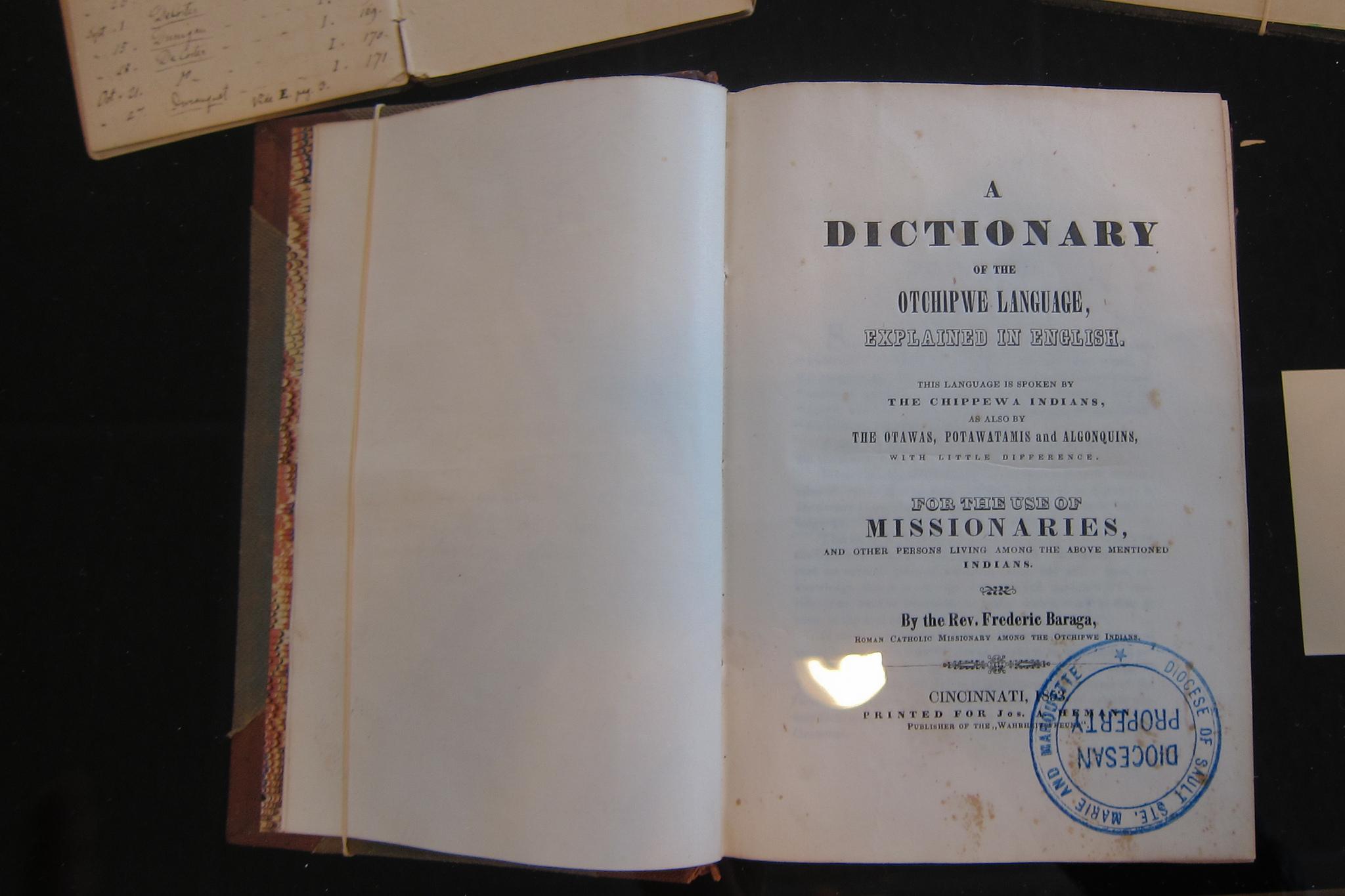Dictionary of the Ojibwe Language